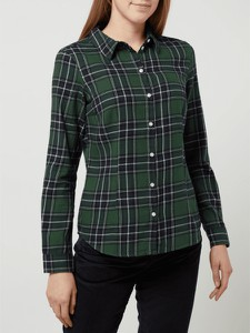 Zielona koszula Montego w stylu casual