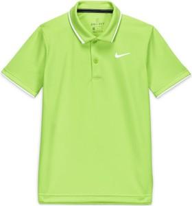 Zielona koszulka dziecięca Nike dla chłopców