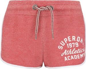 Szorty Superdry z tkaniny
