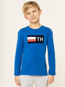 Niebieska bluzka dziecięca Tommy Hilfiger