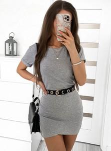 Sukienka Pakuten w stylu casual z krótkim rękawem