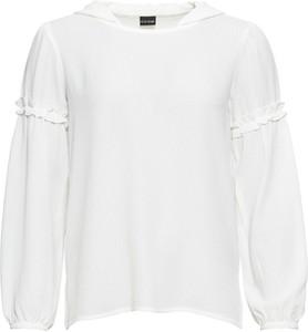 Bluzka bonprix BODYFLIRT w stylu retro z długim rękawem