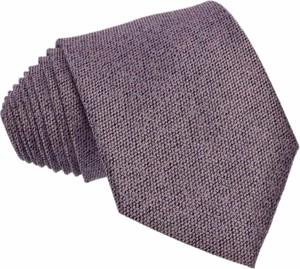 Granatowy krawat republic of ties z wełny