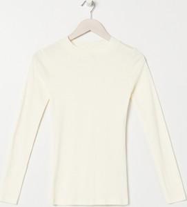 Bluzka Sinsay w stylu casual z długim rękawem