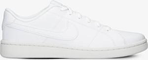 Buty sportowe Nike sznurowane ze skóry w sportowym stylu
