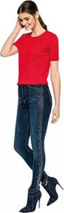 Niebieskie jeansy L'AF w stylu casual z jeansu