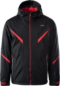 Czarna kurtka Brugi w sportowym stylu krótka