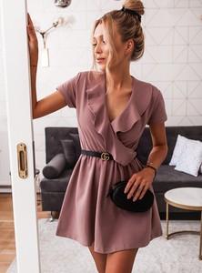 Sukienka SELFIEROOM mini kopertowa