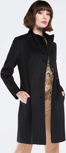 Czarny płaszcz Wittchen