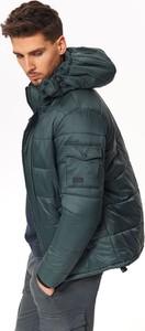 Niebieska kurtka Top Secret w młodzieżowym stylu