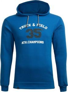 Niebieska bluza Outhorn z bawełny w sportowym stylu