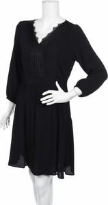 Czarna sukienka Mavi z długim rękawem mini