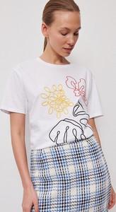T-shirt Reserved w młodzieżowym stylu z krótkim rękawem