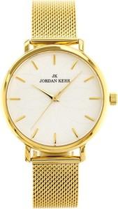 Złote zegarki męskie Jordan Kerr, kolekcja wiosna 2020