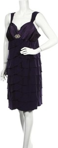 Fioletowa sukienka Noni B na ramiączkach mini