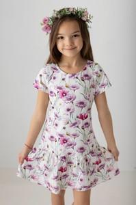 Sukienka dziewczęca Myprincess / Lily Grey w kwiatki