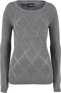 Sweter bonprix bpc bonprix collection w stylu casual
