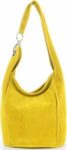 Żółta torebka VITTORIA GOTTI duża