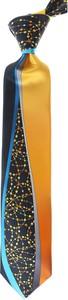 Pomarańczowy krawat Pancaldi