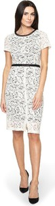 Sukienka POTIS & VERSO w stylu casual midi z okrągłym dekoltem