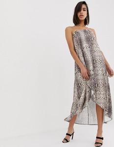 Sukienka Asos Design ze skóry