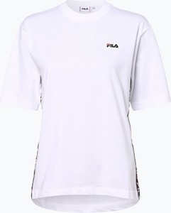 T-shirt Fila z krótkim rękawem z okrągłym dekoltem