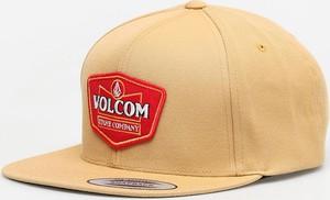 Żółta czapka Volcom