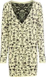 długi sweter bez zapięcia stylowo i modnie z Allani