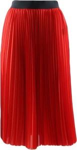 Czerwona spódnica Patrizia Pepe