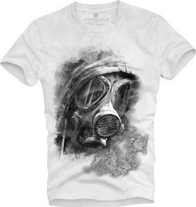 T-shirt Underworld z nadrukiem w młodzieżowym stylu z bawełny