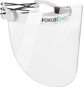 Fokus Pakiet 5 szt. Przyłbica ochronna uchylna wielokrotnego użytku CZARNY
