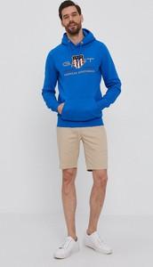 Niebieska bluza Gant w młodzieżowym stylu