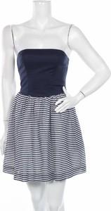 Sukienka Tommy Hilfiger bez rękawów mini gorsetowa