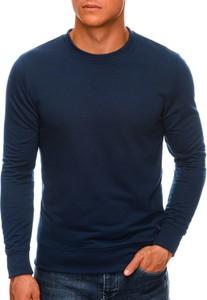 Granatowa bluza Edoti w stylu casual