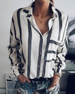 Koszula Kendallme w stylu casual z długim rękawem