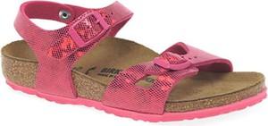 Buty dziecięce letnie Birkenstock ze skóry