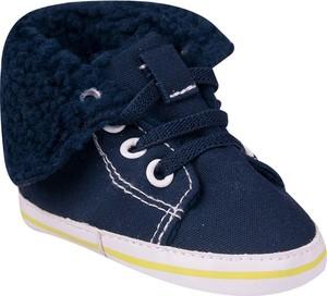 Granatowe buty Yoclub sznurowane