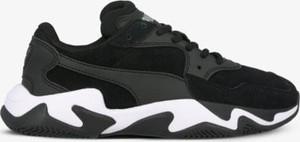 Sneakersy Puma z płaską podeszwą sznurowane