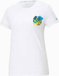 T-shirt Puma z bawełny z okrągłym dekoltem
