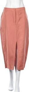 Spódnica Oysho midi w stylu casual