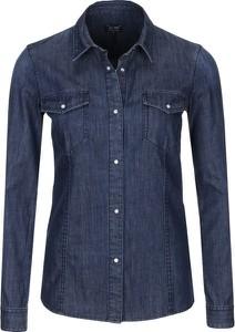 Koszula Armani Jeans z bawełny