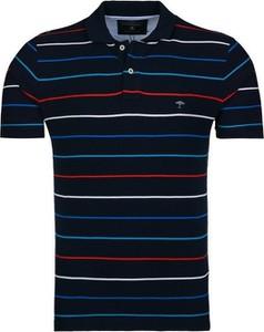 Koszulka polo Fynch Hatton z krótkim rękawem w stylu casual z bawełny