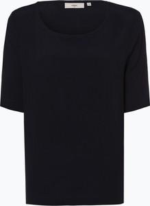 Granatowa bluzka Minimum z okrągłym dekoltem