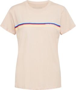 T-shirt Review w młodzieżowym stylu z krótkim rękawem