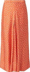 Pomarańczowa spódnica Rodebjer