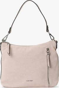 Różowa torebka Suri Frey matowa na ramię