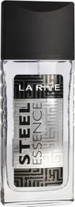 La Rive, Men Steel Essence, dezodorant w atomizerze, 80 ml