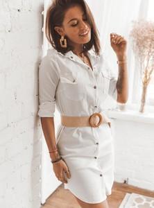 Sukienka SELFIEROOM mini z długim rękawem koszulowa
