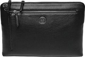 Czarna torebka Quazi średnia na ramię