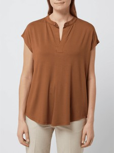 Brązowa bluzka Esprit w stylu casual